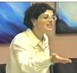 Nancy Salzman his longtime business partner, disciple.